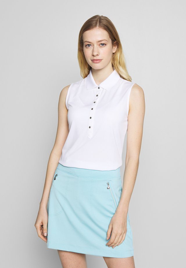 MINDY - Poloshirt - white