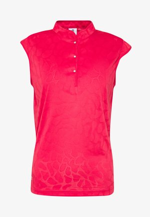 UMA CAP - Polo shirt - sangria