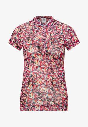 KACIE CAP SHIRT - Poloshirt - black