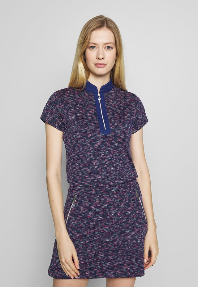 ALVINA CAP - Print T-shirt - night blue