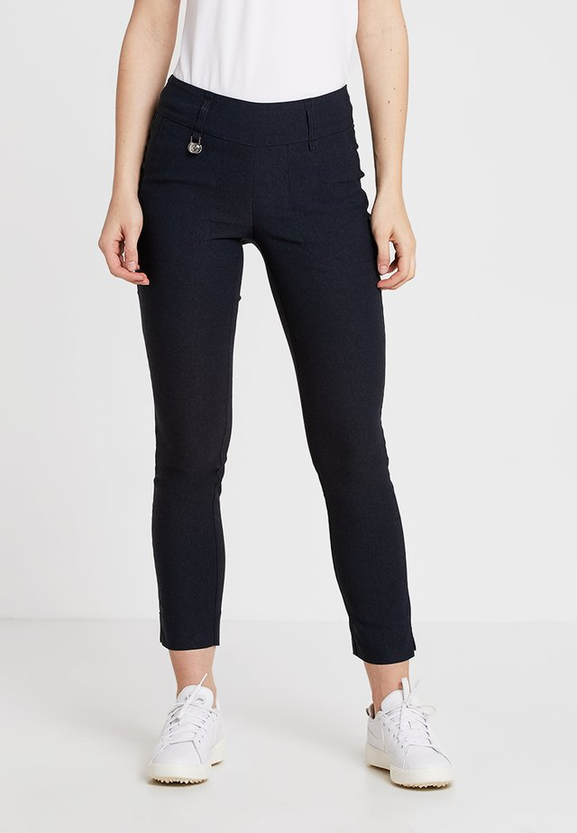 MAGIC HIGH WATER - Pantaloni - navy