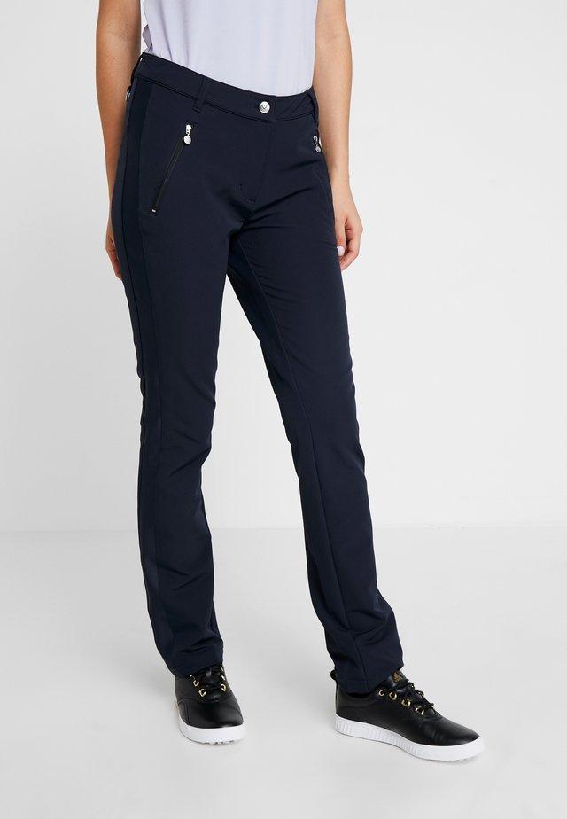 MADDY PANTS - Spodnie materiałowe - navy