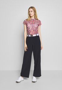 Daily Sports - PALAZZO PANTS - Trousers - navy - 1