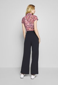 Daily Sports - PALAZZO PANTS - Trousers - navy - 2