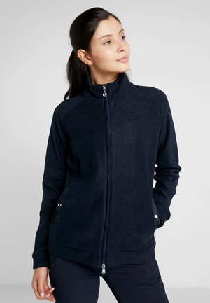 LINDA JACKET - Giacca in pile - navy