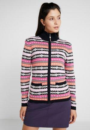LORA UNLINED - veste en sweat zippée - navy