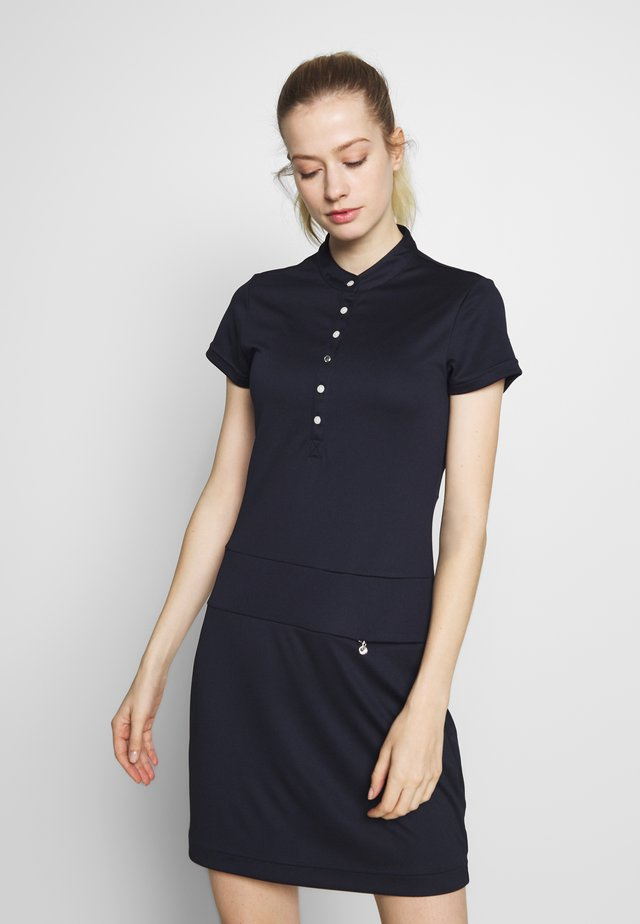SELENA CAP DRESS - Jerseyklänning - navy