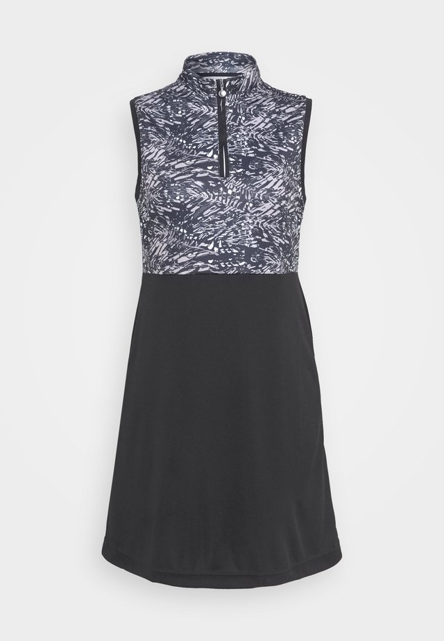 LUNA DRESS - Sukienka sportowa - black