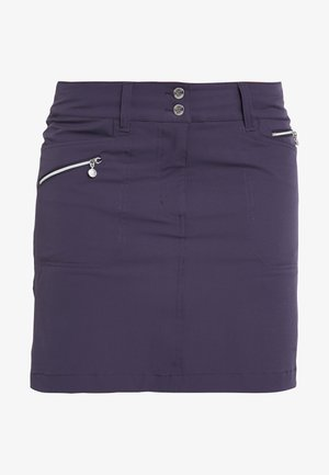 MIRACLE SKORT - Sportkjol - dark purple