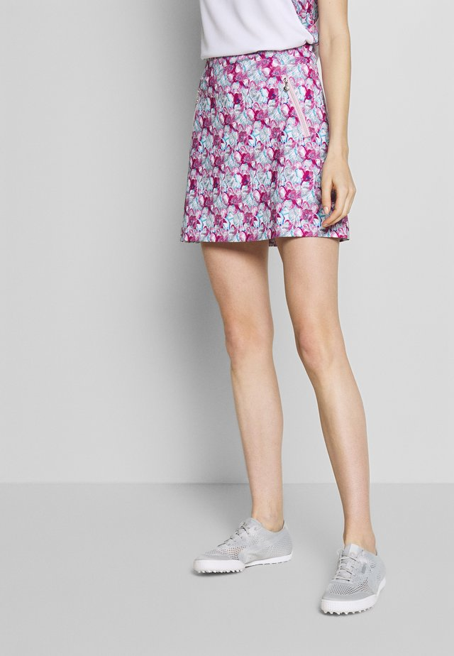 PAISLEY SKORT - Gonna sportivo - azul