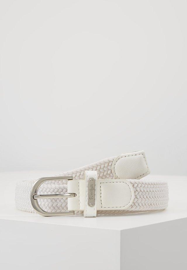 GISELLE ELASTIC BELT - Skärp - white