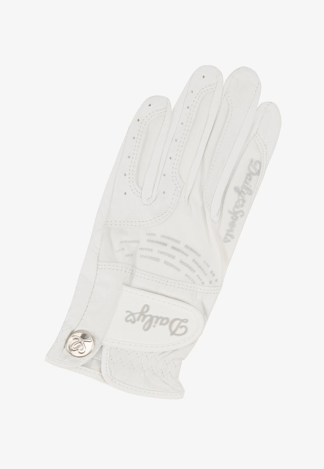 GLOVE - Fingervantar - white