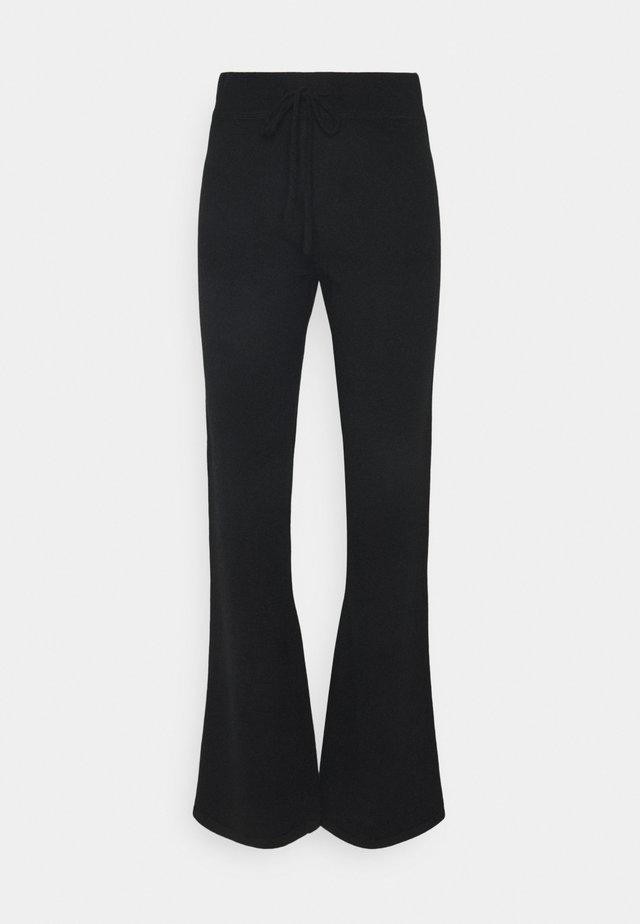 PANTS - Pantalon classique - black