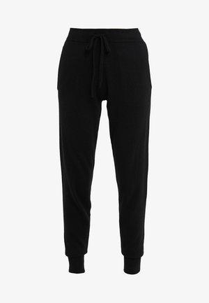 PANTS POCKETS - Tracksuit bottoms - black