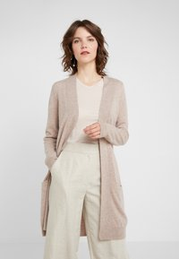 Davida Cashmere - POCKET LONG - Cardigan - sand - 0
