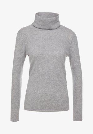 LOOSE TURTLENECK - Stickad tröja - light grey