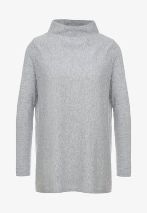 TURTLENECK - Stickad tröja - light grey