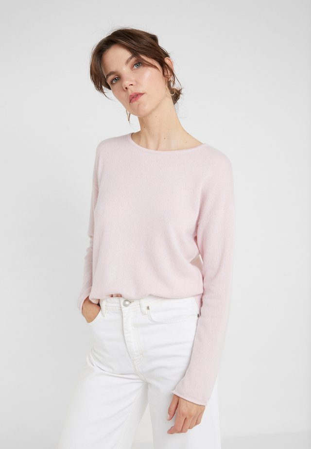 NECK LONG - Pullover - light pink