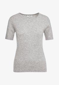 Davida Cashmere - T-Shirt basic - light grey - 3