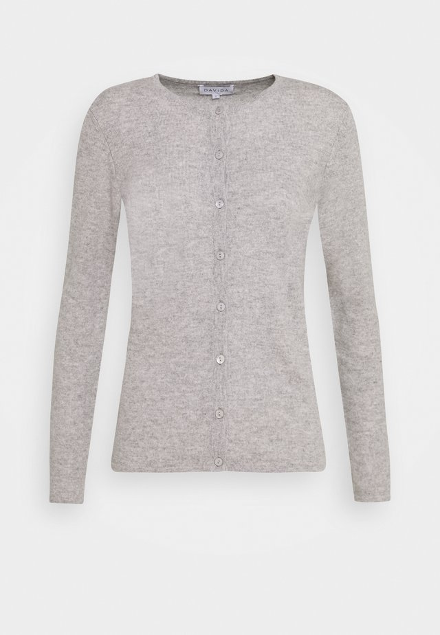 CLASSIC - Cardigan - light grey