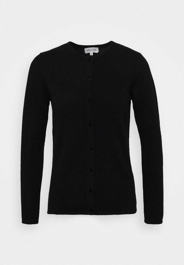 CLASSIC CARDIGAN - Cardigan - black