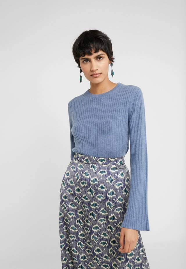 WIDE SLEEVE SWEATER - Pullover - dusty blue