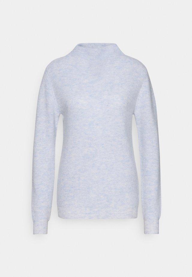 FUNNEL NECK - Pullover - light blue