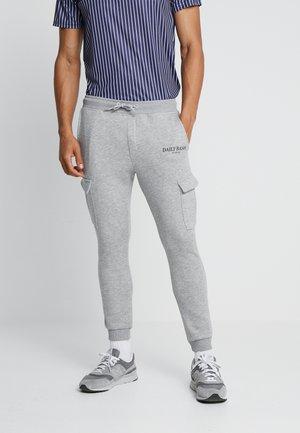 Teplákové kalhoty - grey marl