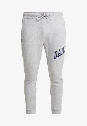 COLLEGE - Teplákové kalhoty - grey marl