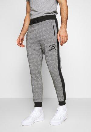 CHECK PANT - Pantalon de survêtement - grey marl