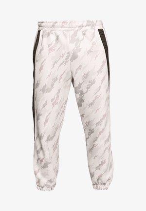 CAMO TAPED - Teplákové kalhoty - offwhite