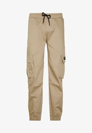 DAILY BASIS PANTS - Cargo trousers - stone