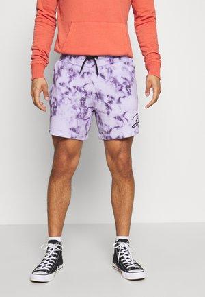 Teplákové kalhoty - lilac