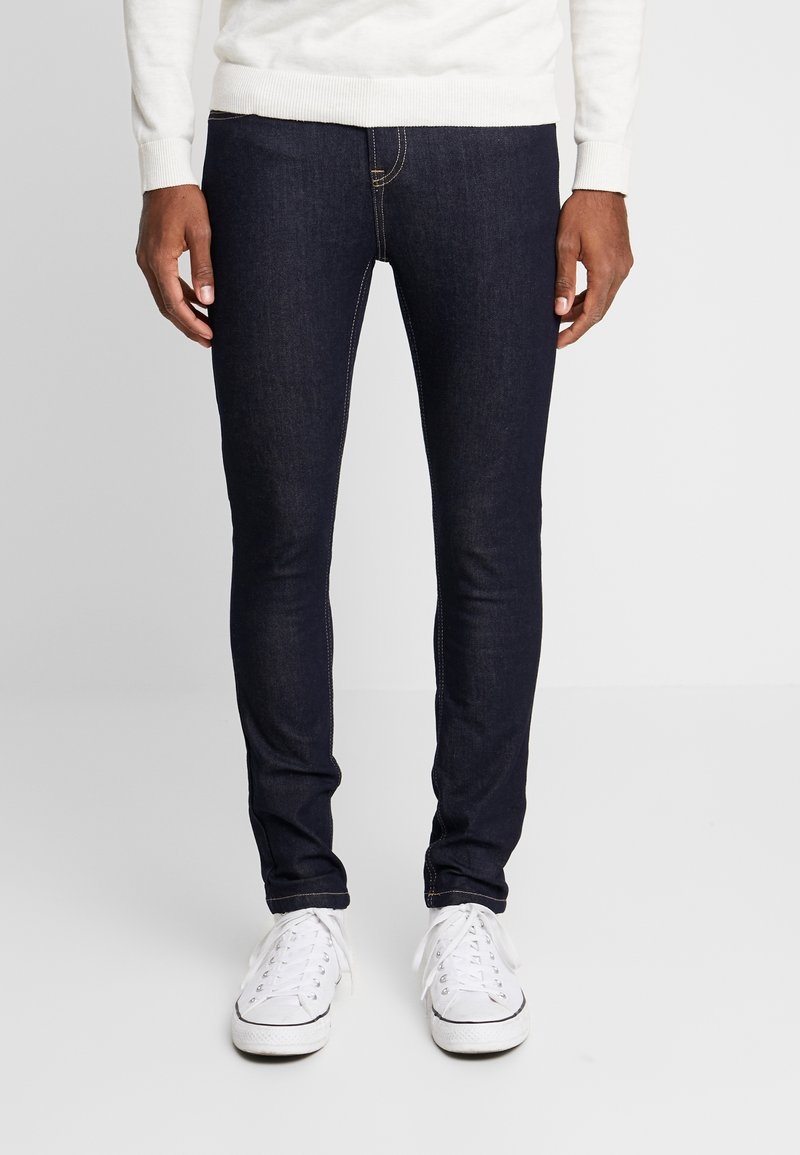 Daily Basis Studios - CAST  - Jeansy Skinny Fit - blue raw