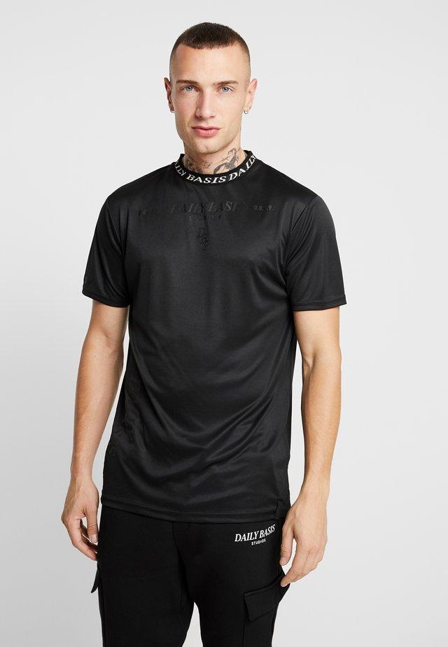 INJECTION TEE - T-shirt print - black