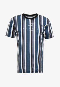 Daily Basis Studios - SIGNATURE STRIPE TEE - T-shirt med print - white - 4