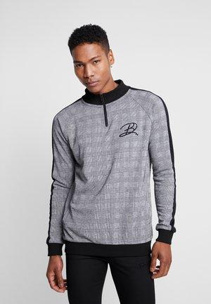 TRACK TOP - Sweater - grey marl