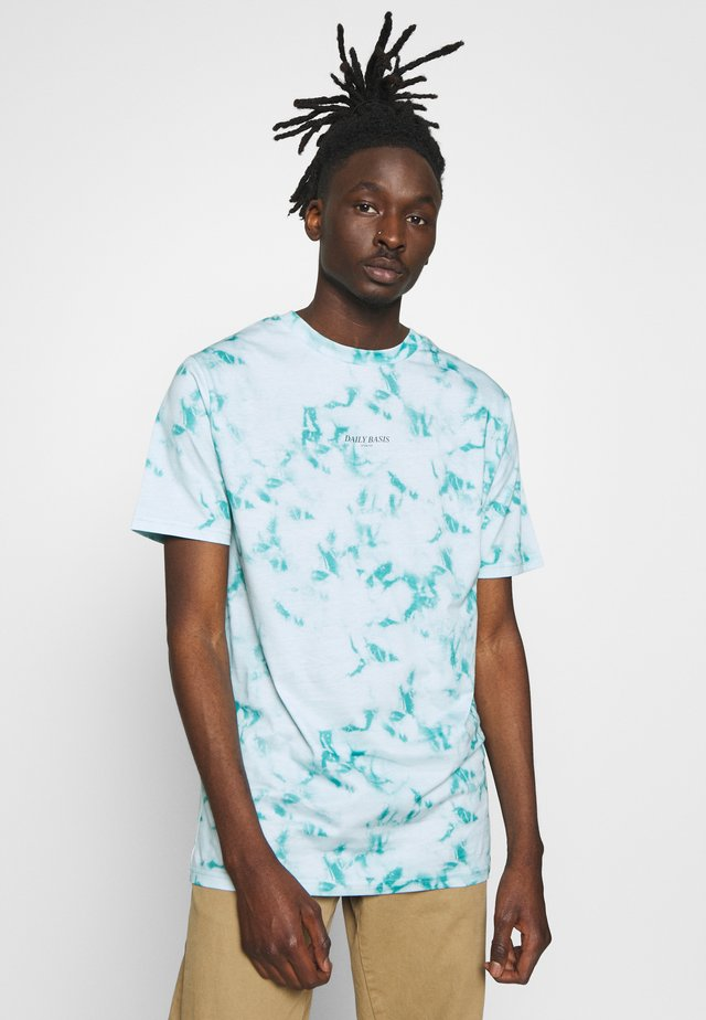 T-shirts print - mint