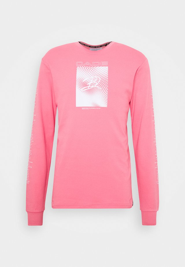 GEO PRINT - T-shirts print - pink