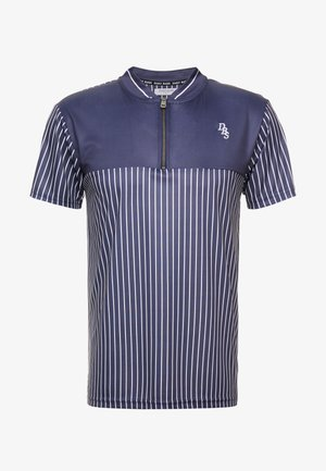 PINSTRIPE VARSITY - T-shirts med print - navy