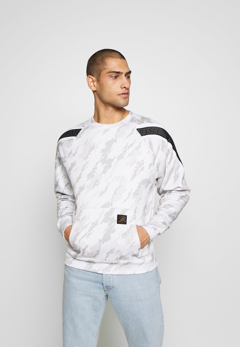 Daily Basis Studios - TAPED CREW - Sweater - off white