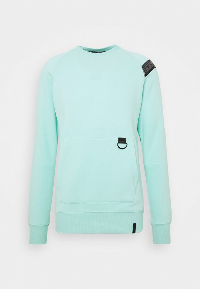 DAILY BASIS GARMENT DYE  - Sweatshirt - mint