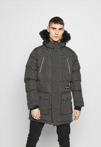 Daily Basis Studios - Winter coat - grey - 0