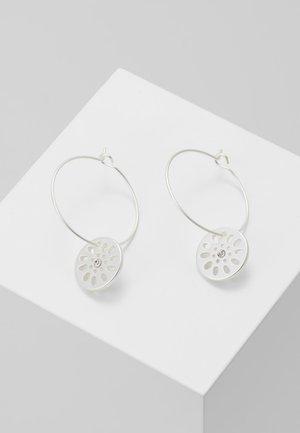 EARRING DAISY - Earrings - silver-coloured