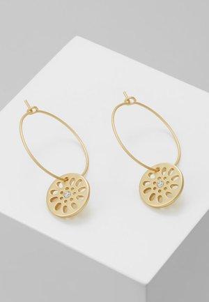 EARRING DAISY - Earrings - gold-colored