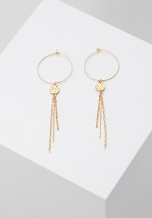 EARRING AMBER - Boucles d'oreilles - gold-coloured