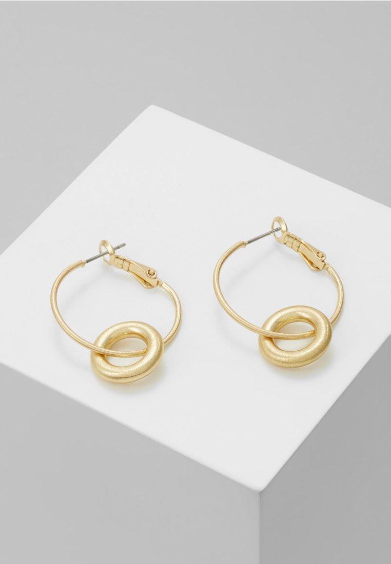Dansk Smykkekunst - EARRING INFINITY - Earrings - gold-coloured