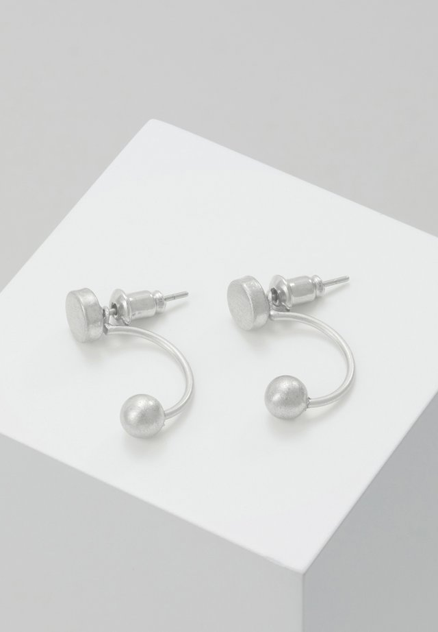EARRING VANITY - Øreringe - silver-coloured