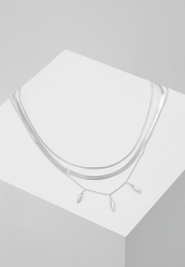 NECKLACE DAISY - Halskette - silver-coloured