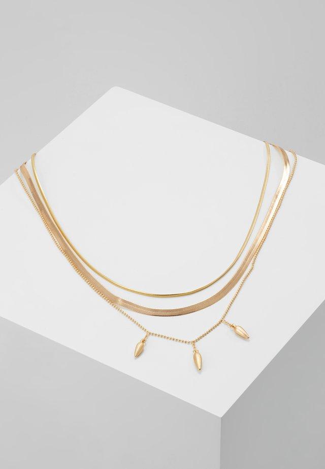 NECKLACE DAISY - Halskæder - gold-coloured